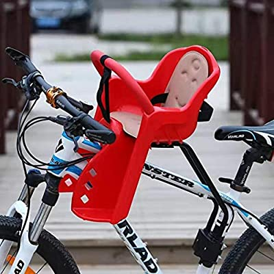 ZQZQMR Asiento de Bicicleta para niños con Montaje Frontal Seguro ...