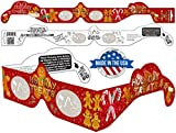 24 Pairs Holiday 3D Glasses - With Rare 3DHeaven Exclusive Styles HOLIDAY TREATS and HOLIDAY TRAINS – 13 Different!