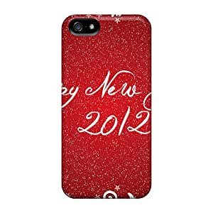 DonaldWS Fashion Protective Happy New Year 2012 Case Cover For Iphone 5/5s