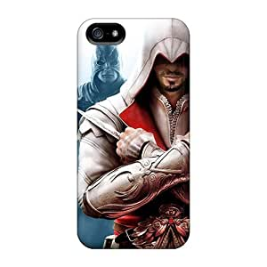 Iphone 5/5s Case Cover - Slim Fit Tpu Protector Shock Absorbent Case (assassins Creed Brotherhood) by icecream design