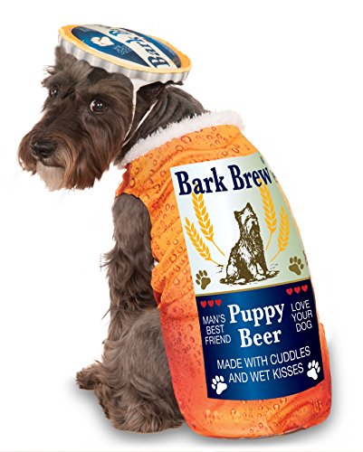 Bark Brew for Pet, Large (Dog Halloween Costume Squirrel)