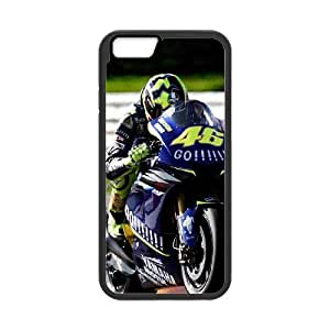 Valentino Rossi iPhone 6 Plus 5.5 Inch Cell Phone Case Black JN0K8304