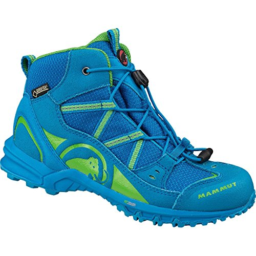 Mammut Nova Mid GTX® Kids (Backpacking/Hiking Footwear (Mid)) atlantic-sherwood