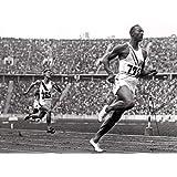 Jesse Owens Poster, Olympic Champion, Sprinter, Running, Track & Field Athlete