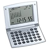 Natico Multifunctional World time Clock, Calendar