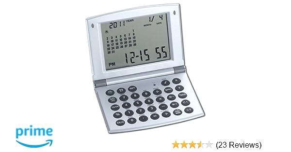 Amazon Com Natico Multifunctional World Time Clock Calendar And
