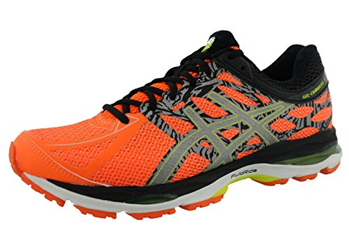 ASICS-Mens-Gel-Cumulus-17-Lite-Show-Running-Shoe-Hot-OrangeFlash-YellowBlack-10-M-US