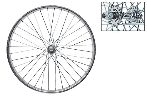 Wheel Master Front Bicycle Wheel 24 x 2.125 36H, Steel, Bolt On, Silver by WheelMaster (Image #1)