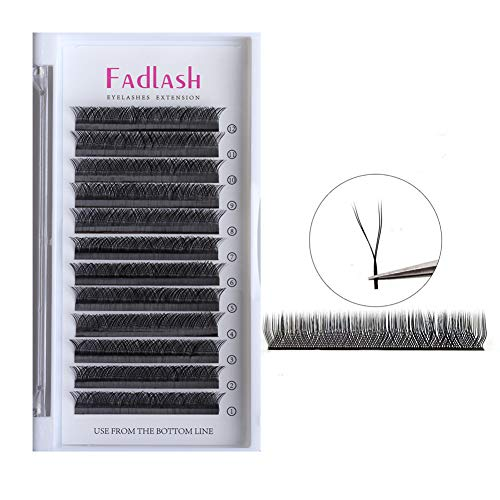 Volume Lash Extensions D Curl 0.07mm 12mm YY Individual Lashes Matte Faux Mink False Eyelashes Clusters Professional Flare Lashes Knot-free