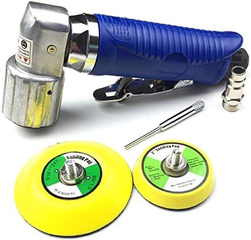 Druckluft Winkelschleifer 30 50 70 mm Klettaufnahme Schleifmaschine Schleifer