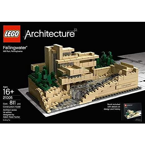 amazon com lego architecture fallingwater 21005 discontinued by rh amazon com falling water model kit falling water model