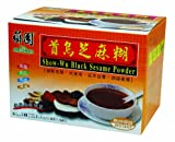 Sweet Garden Show-Wu Black Sesame Powder, 8.46-Ounce (Pack of 4)