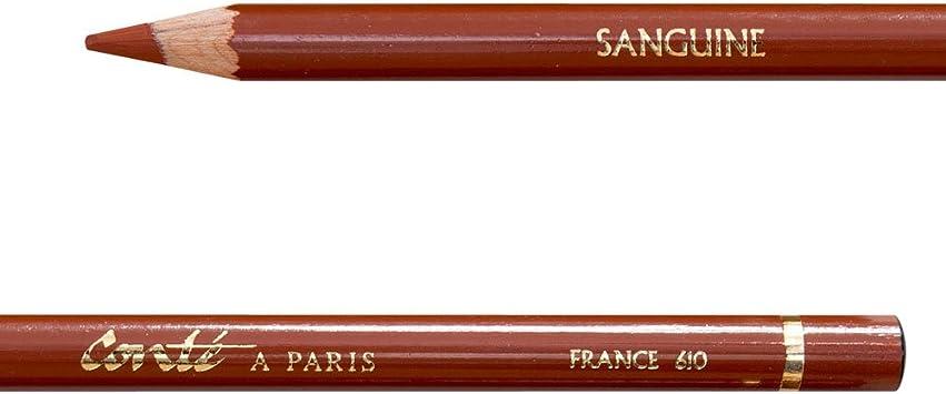 Conte Sanguine Drawing Pencil