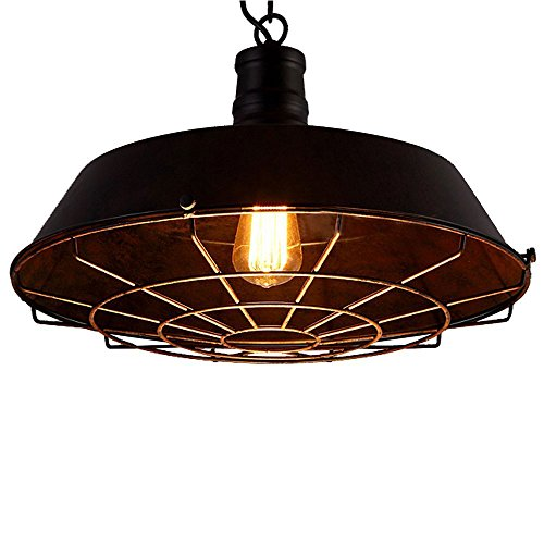 Iron Outdoor Pendant Lights in US - 6