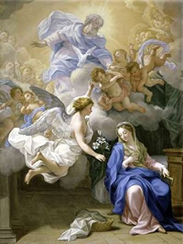 The Annunciation Poster Print by Giovanni Odazzi (18 x 24)