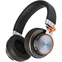 Bluetooth Headphone, Wireless Over Ear 4.1 headset with Microphone for Cell Phone/PC/MAC, 40mm Driver with Comfortable Protein Earpads, 14-Hour Playtime, Micolindun