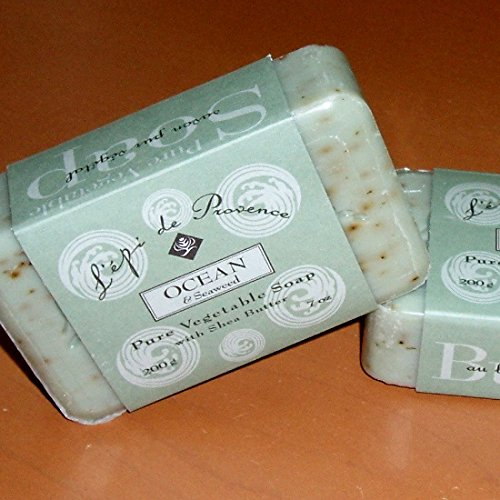 Each Triple Milled Soaps (L'Epi de Provence 200g Ocean Seaweed Shea Butter Enriched Triple Milled French)