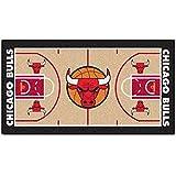 Fanmats NBA Chicago Bulls Nylon Face NBA Court Runner-Small