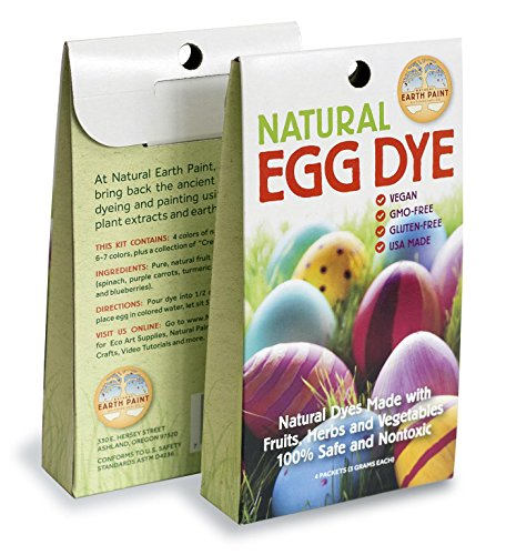 Natural Egg Dye Kit by Natural Earth Paint