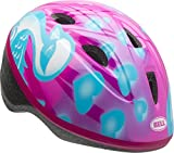 Best Toddler Bike Helmets - Bell Zoomer Toddler Helmet, Pink and Blue Downy Review