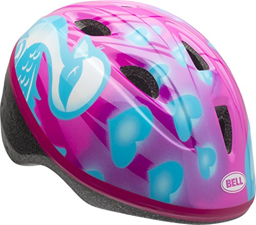 - Bell 7073339 Zoomer Toddler Helmet, Pink/Blue Downy