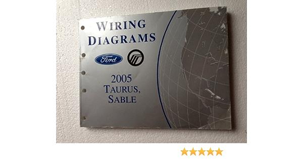 2005 Ford Taurus Mercury Sable Wiring Diagrams Manual Original Ford Amazon Com Books