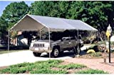 Metal WaterproofFire Retardant 6 Legs 10 x 20 ft. Canopy Carport 20L x  sc 1 st  Amazon.com & Amazon.com: EMBARK blue 10x10 SlaNT. Leg Canopy GAZEBO: Garden ...