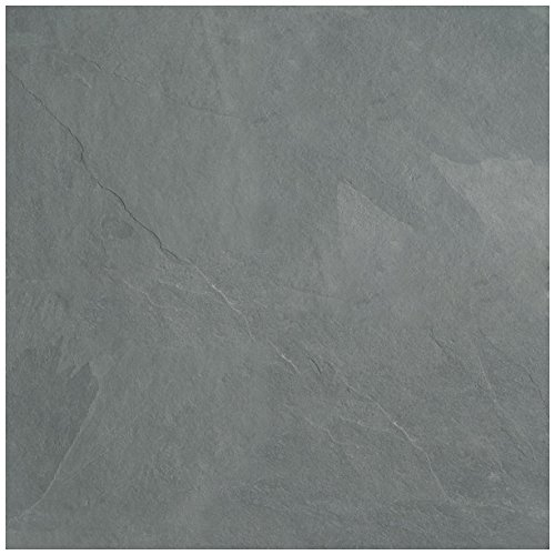 "Dal-Tile S2011212X1P Slate Tile (S20112121P-6/6) x 17-13/16"", Brazil Grey Natural Cleft"