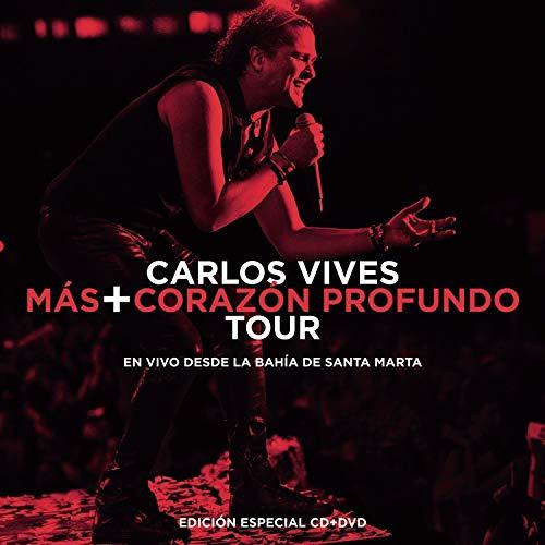 (Carlos Vives (Mas+Corazon Profundo Tour CD+DVD