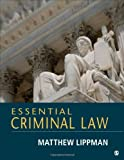 Essential Criminal Law, Matthew Lippman, 1452276935