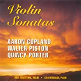 : Violin Sonatas: Copland, Piston, Porter