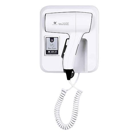 Lorjoy Secadora Home Hotel Baño Ducha termostática Montaje en Pared Pelo soplador eléctrico Secador de Pelo