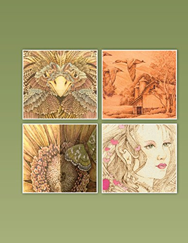 The Art & Craft of Pyrography: Drawing with Fire on Leather, Gourds, Cloth, Paper, and Wood (Fox Chapel Publishing) More Than 40 Patterns, Step-by-Step Projects, and Expert Advice from Lora S. Irish by Design Originals (Image #2)