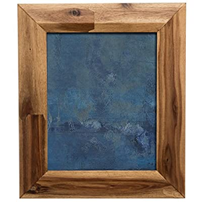 PRINZ Tahoe 4x6 Light Walnut Acacia Wood Frame - Constructed from wood Displays your favorite 4x6 photo 2-Way easel for easy vertical or horizontal display - picture-frames, bedroom-decor, bedroom - 514jbBVrJPL. SS400  -