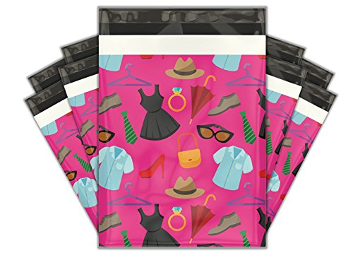Nice 10x13 (100) Fashion Boutique Designer Poly Mailers Shipping Envelopes Premium Printed Bags hot sale