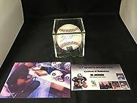 Bo Jackson Autographed Signed MLB Baseball Kansas City Royals GTSM Bo Hologram & COA With Photo From Signing W/Display Case