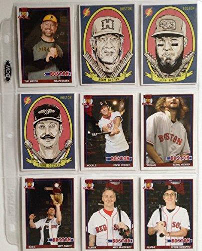 Pearl Jam Boston baseball card set 64 card set Fenway Park Red Sox Eddie - Fenway Shop