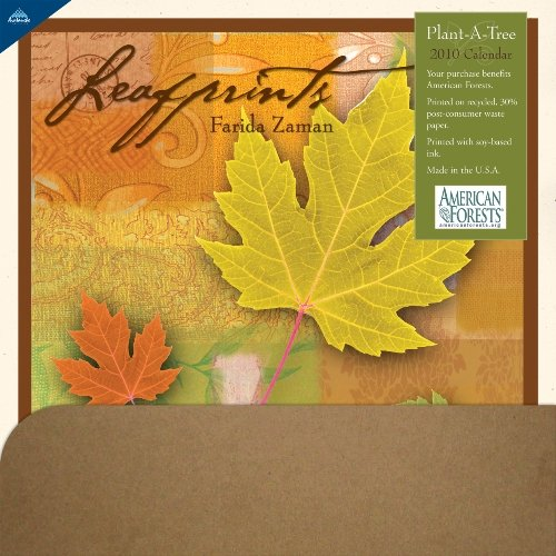 Leafprints Plant-A-Tree 2010 Wall Calendar