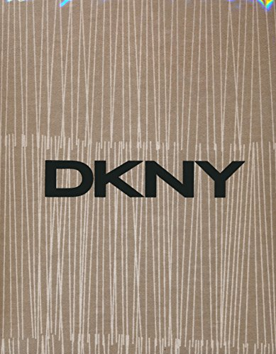 DKNY Twine Linen  Cotton Fabric Shower Curtain