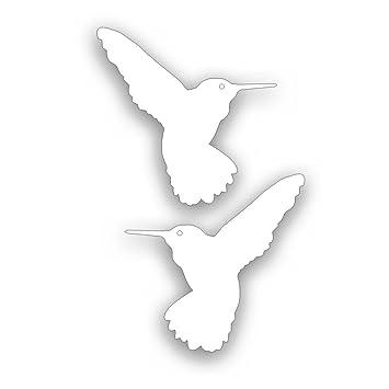 Amazoncom Hummingbird Decal PAIR For Flower Garden Or Visibility - Window alert hummingbird decals amazon