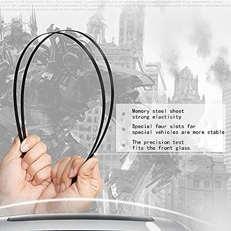 TOOGOO Limpiaparabrisas para Changan CS75 limpiaparabrisas especial del coche escobilla de limpiaparabrisas sin hueso: Amazon.es: Coche y moto