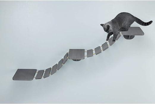 Trixie Escalera Gatos Escalada, 150 × 30 cm, Gris, Gato: Amazon.es: Productos para mascotas