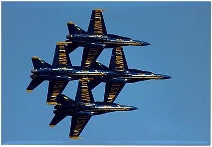 CafePress – azul ángeles flota semana 2007 – rectangular imán, 2