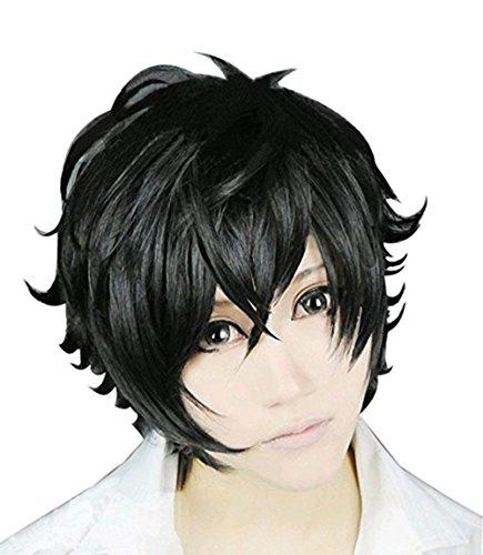 Persona 5 Protagonist Kurusu Akira Joker Cosplay Wig/Glasses/Mask