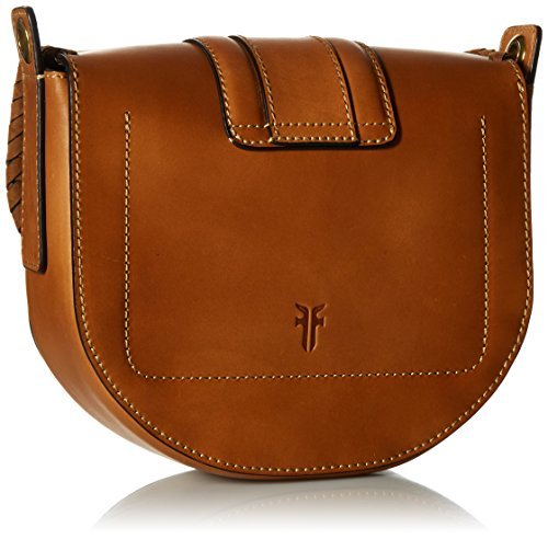 Bag FRYE Cognac Leather Wrapped Ilana Small Saddle a6148q6