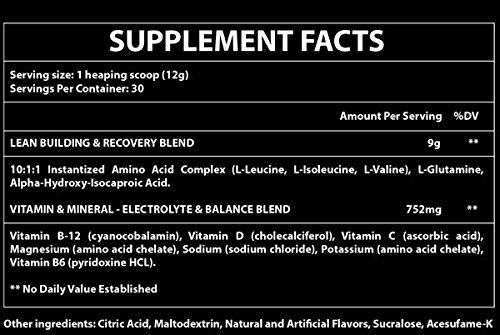 Sustainall BCAAS 10:1:1   9 Grams   Leucine, Isoleucine, Valine