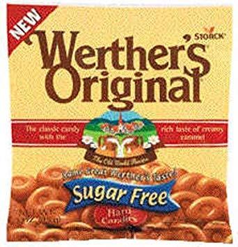 Werthers Original Sf Peg - 12 Pack
