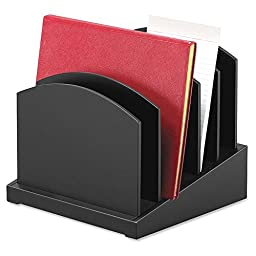 Victor Wood Desk Accessories Incline File, Midnight Black (8601-5)