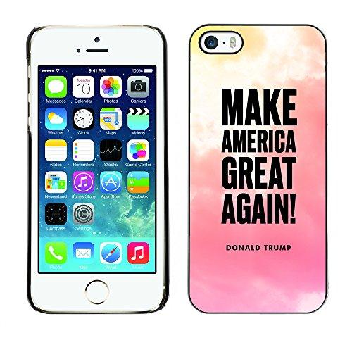 Print Motif Coque de protection Case Cover // Q04060534 Trump Amérique fantastique Cloudscape // Apple iPhone 5 5S 5G