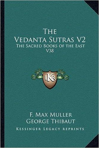 Book The Vedanta Sutras V2: The Sacred Books of the East V38